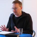 Referent Oliver Jeschke am 17. April im Nachbarschaftshaus